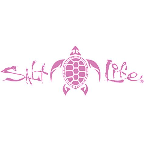 salt decal signature turtle decal salt to the sea