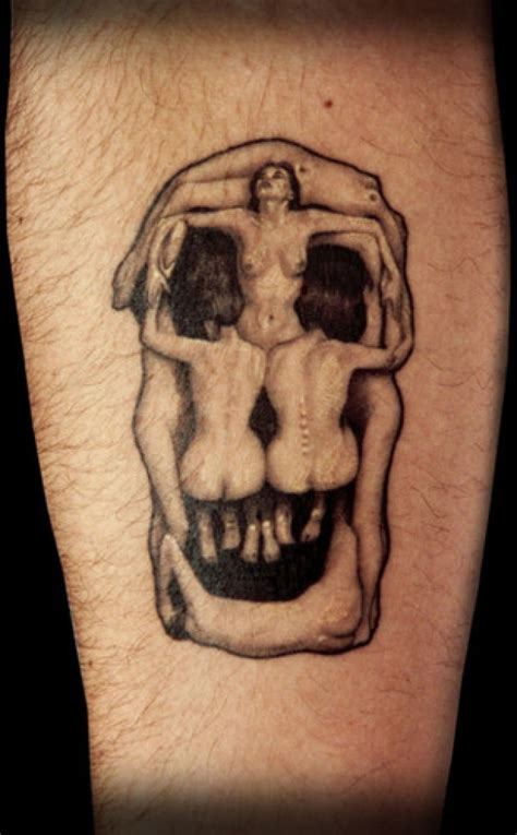 silence of the lambs tattoo dali skull picture on visualizeus in the silence of the