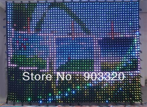 led video curtain online buy wholesale flexible led curtain from china