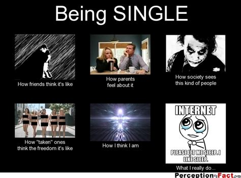being single what people think i do what i really do