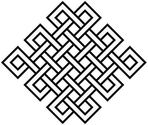 svg symbol pattern file 25crossing endless knot elaborated svg wikimedia