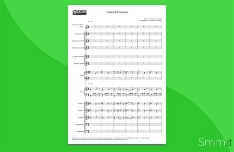 funicul 236 funicul 224 partitura per orchestra scolastica