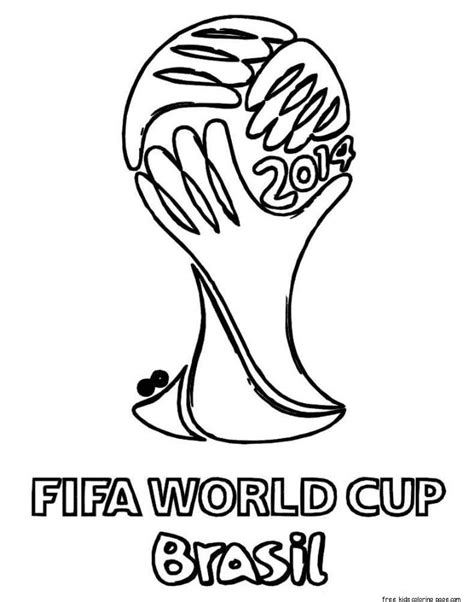 coloring pages fifa world cup printable soccer world cup brazil coloring pages for
