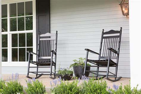 porch rocking chairs on fixer photos hgtv s fixer with chip and joanna gaines hgtv