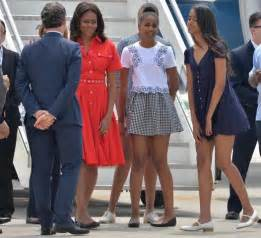 Photos michelle obama and daughters take over venice in style