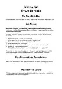 comprehensive plan template 5 comprehensive strategic business plan template