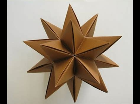 how to make 3d star and balls how to make an origami with a4 paper