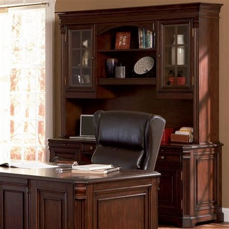 office desk with credenza executive home office credenza desk with storage shelves