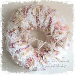 Lamp Shade Centerpieces by Shabby Chic Coffee Filter Wreath Tutorial Youtube