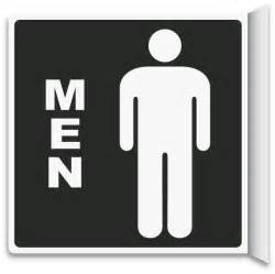 signs for bathroom 2 way s restroom sign t4334 by safetysign
