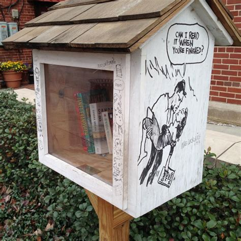 front yard library a mailbox library is a great front yard feature hgtv