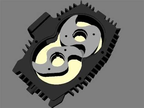 busch rotary claw vacuum slice view of hook and claw vacuum or blower