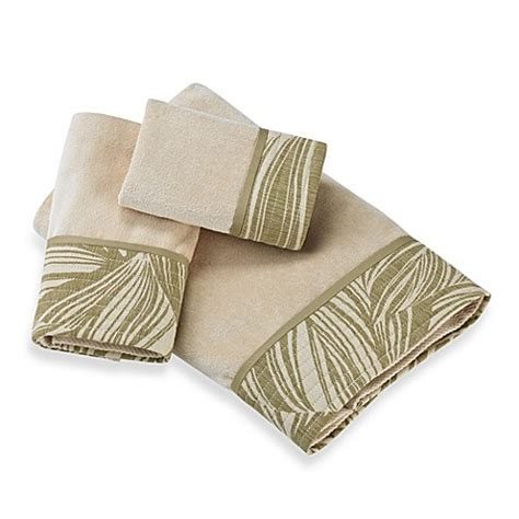 leaf pattern bath towels tommy bahama montauk drifter bath towel collection bed