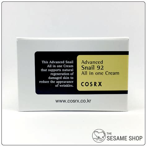 Cosrx Advanced Snail 92 All In One 10ml Essence cosrx advanced snail 92 all in one 100ml the sesame shop