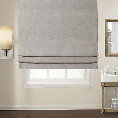 light gray shades modern light grey solid roman shade