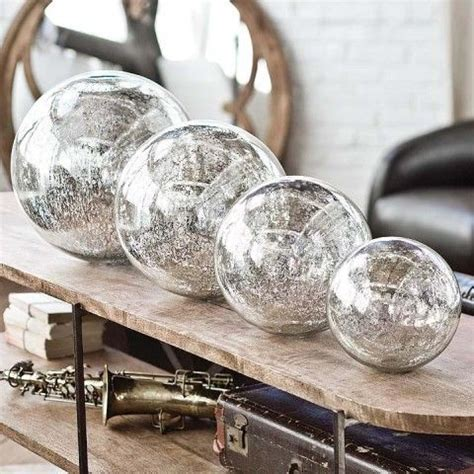 amazing mercury glass balls mercury glass