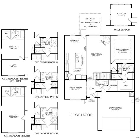 centex homes floor plans inspirational plantation home