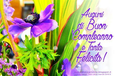 fiori di buon compleanno gratis immagini auguri compleanno divertenti