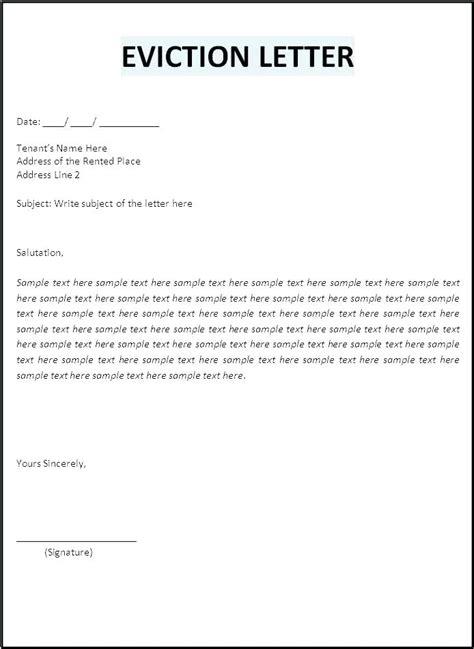 landlord letters tenant vacate aikenexplorercom