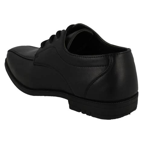 boys jcdees brogue style formal school shoes 111