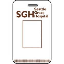 hospital id card template seattle grace hospital id card custom from the identity