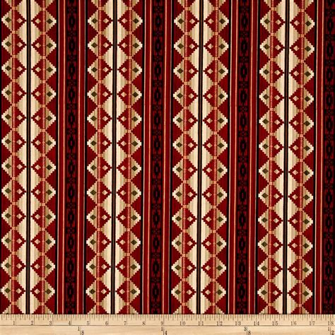 designer fabric living lodge c blanket red discount designer fabric