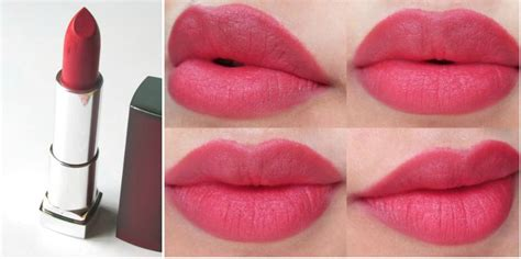 Maybelline Matte Lipstick cherry pink lipstick shades the of