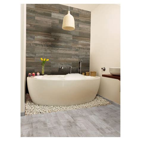 vitaelegante bianco 12 in x 24 in porcelain floor and