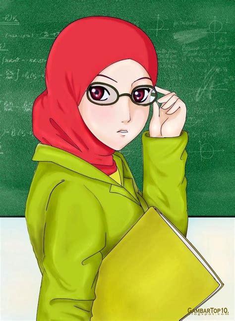 Top Animasi 1 10 gambar kartun muslimah world hd wallpapers