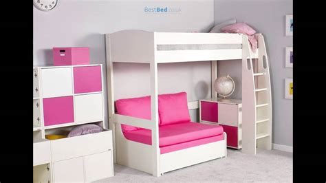 High Sleeper Frame by Stompa Unos High Sleeper Frame With Sofa Bed Only