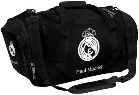 Tas Real Madrid White Black sporttas hagemeijer tweewielers gorinchem