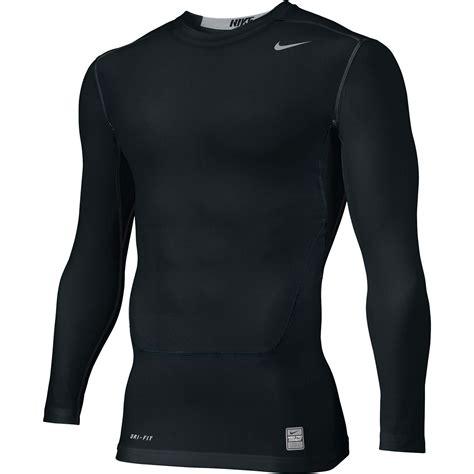Baselayer Npc Nike Pro Combat Shortsleeve Compression Black Grey nike s pro combat npc 2 0 ls compression top shirt ebay