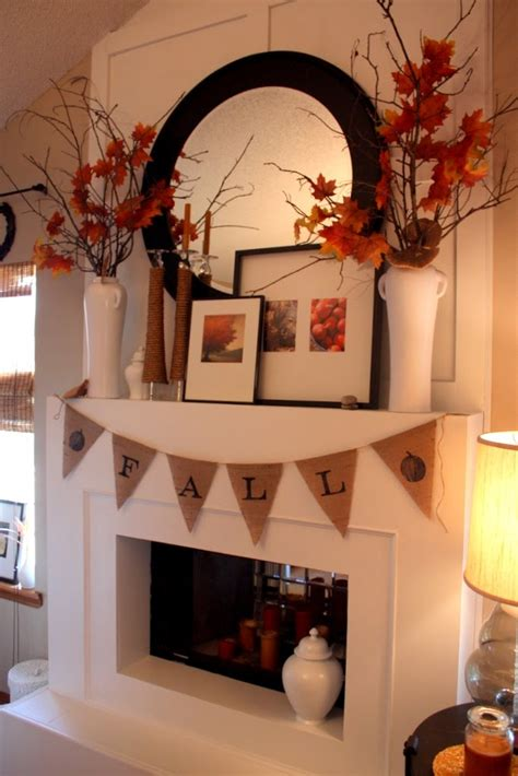 fireplace mantel decorating ideas for fall fall mantel ideas autumn mantle home stories a to z