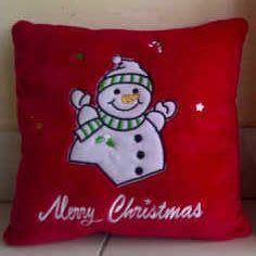 Bantal Natal Merah pin by sahabat souvenir on souvenir natal 2013