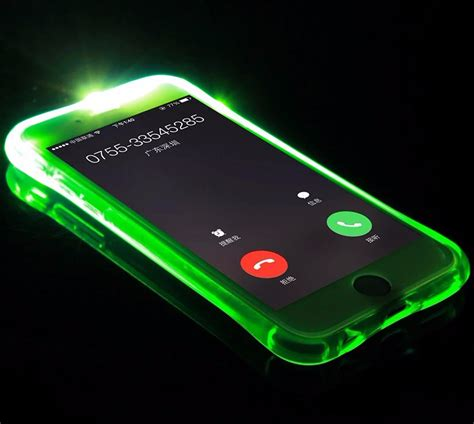 Led Light Samsung A7 led light up phone cover for samsung galaxy a3 a5 a7