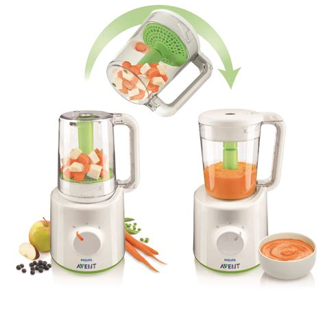Philips Avent 2 In 1 Blender Steamer philips avent combined steamer and blender babyroad