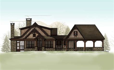 mountain cottages house plans 2 bedroom cabin home plan homepw76649 small craftsman cottage house plan cheaha