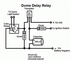 Car Dome Light Delay Circuit Hotwaterwizard Dome Delay Relay