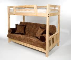 Bunk Bed With Futon On Bottom Freedom Futon Bunk Bed