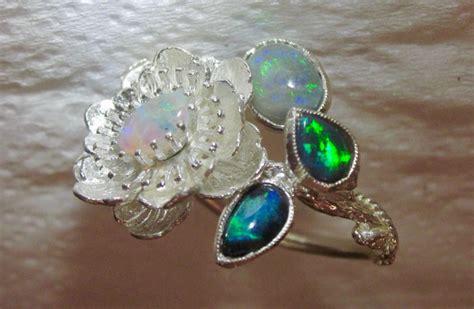 Handmade Gemstone Jewellery Australia - opal ring guaranteed australian opal gemstones 100