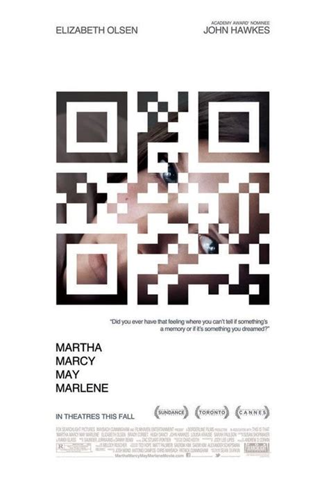 poster design with qr code movie trailers released exclusively via qr code for the