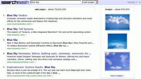 New Search Site Searchmash A New Search Site
