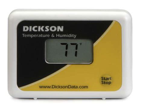 Data Logger Tm320 tp425 digital temperature humidity data logger from dickson