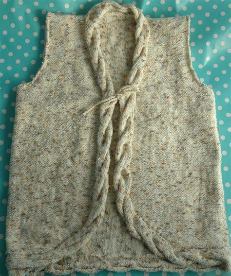 knitting pattern for waistcoat dk knitting pattern cable waistcoat knits r us