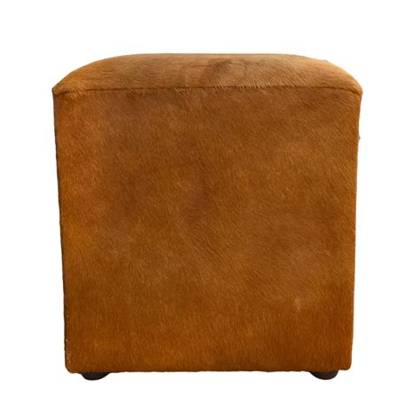 cowhide cube ottoman cowhide cube ottoman taxidermy mounts for sale and