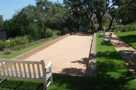 Backyard Bocce by Sport Court Midwest Bocce Courts