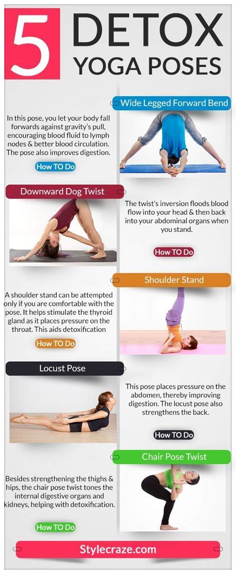 Detox Daily Routine by 25 Best Ideas About Challenging Poses On