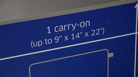 united airline carry on united airlines enforces carry on bag size restrictions