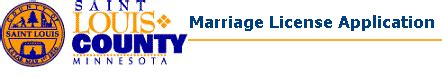 St Louis County Marriage License Records Marriage License System