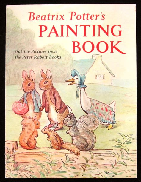 rabbits picture book beatrix potter s painting book outline pictures from the